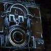 Insane Clock Projection Augments Reality