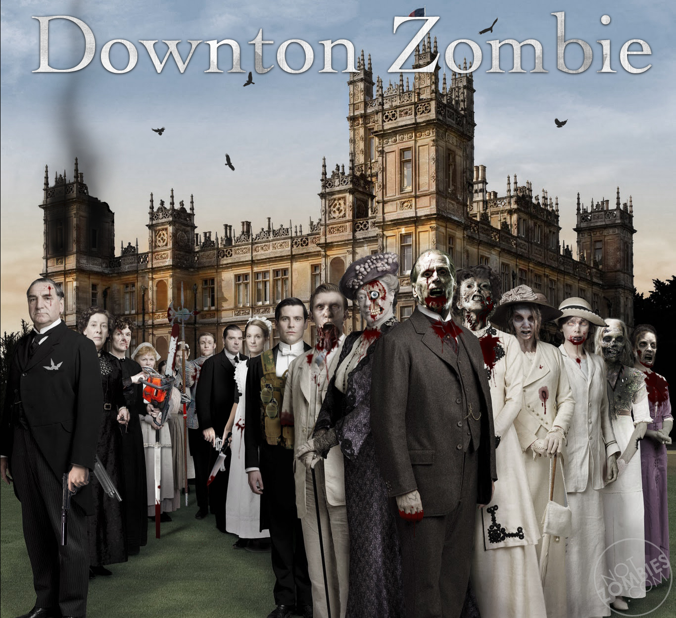 downton abbey zombies